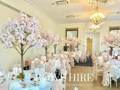 180cm Pink Blossom Cherry Trees