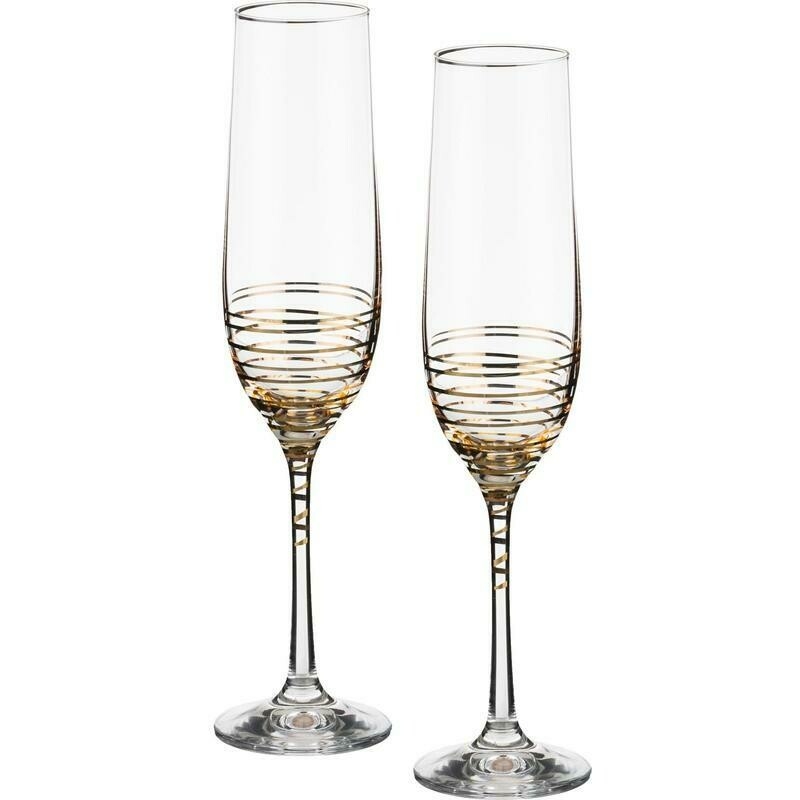 Набор бокалов для шампанского 2 шт