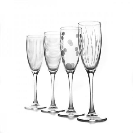 """Набор бокалов для шампанского """"Лаунж клаб"""""""