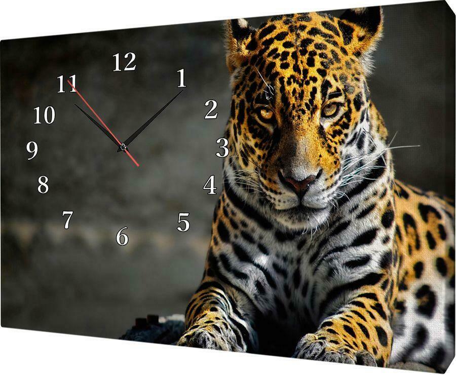 99451 Часы настенные Сюжет X1009 часы на холсте 30*40