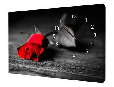 91503 Часы настенные Сюжет X1088 часы на холсте 30*40