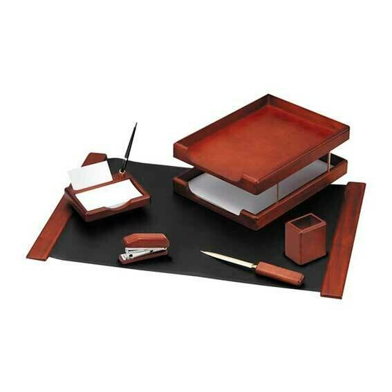 172795 Набор настольный подар. ХАТ MB_06111 (6предм.) темно-коричневый орех ПОД ЗАКАЗ