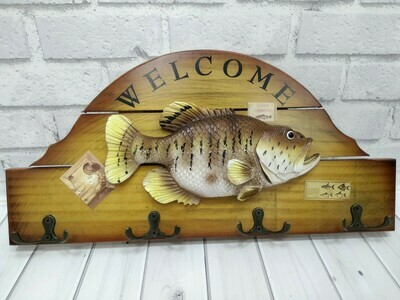 Панно рыбалка 38*19*3 см