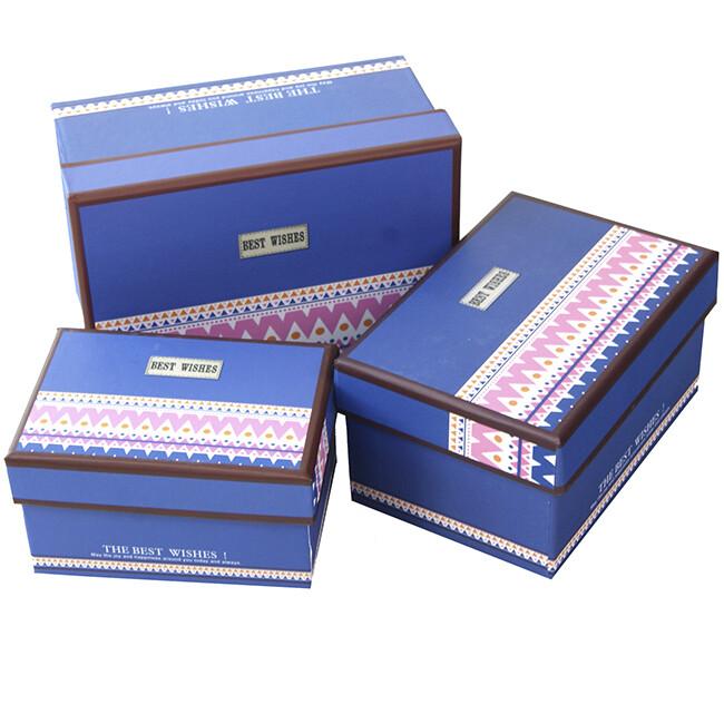 """10654 Набор подарочных коробок """"3 в 1"""", 15*10,5*7,8 см"""