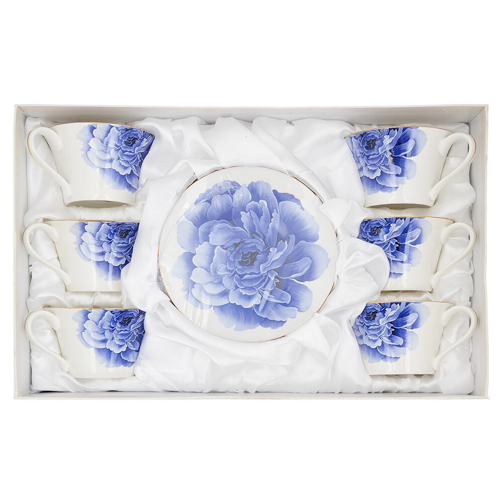 802-288 Виолета Набор чайный 12 пр., 270мл, костяной фарфор