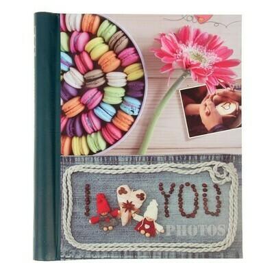3091416 Фотоальбом магнитный 10 листов Image Art серия 25 любовь 23х28 см