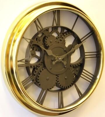 88158 Часы настенные MIRRON C1205 зол 300х300х40 мм