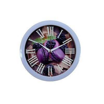 102652 Часы настенные Вега П1-13-7-451 Пирожные