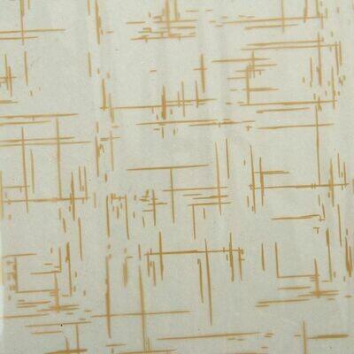 "1136357 Пленка для цветов ""Граффити"" кремовый 0,7 х 8.2 м, 40мкм"