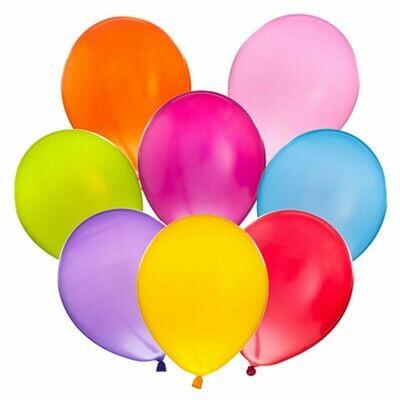 """513-194 Набор воздушных шаров 10шт, латекс, 10"""", микс цветов пастель"""