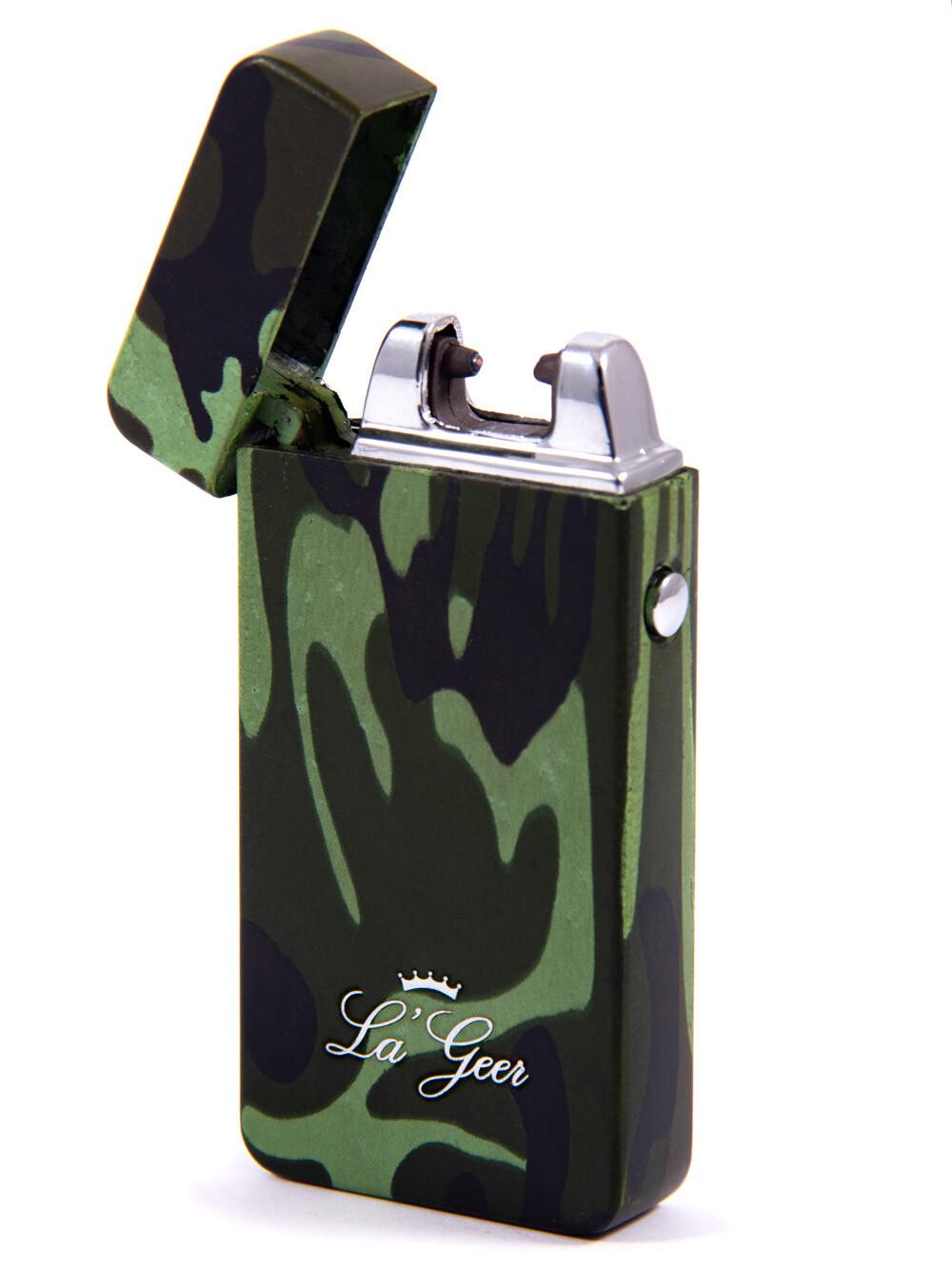 """85410 Зажигалка """"LA GEER"""" 7*4см электроимпульсная USB"""