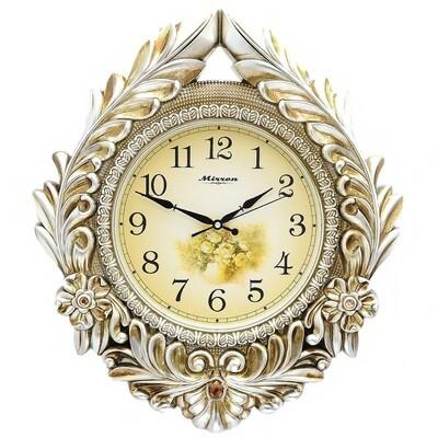 84021 Часы настенные MIRRON P2956А ЗБ, 560х500х45 мм