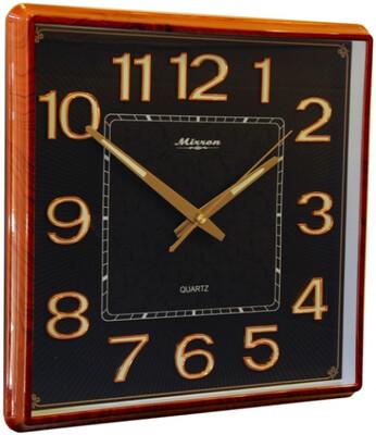99826 Часы настенные MIRRON P3022ВМ ДКЧ, 315х330х45 мм