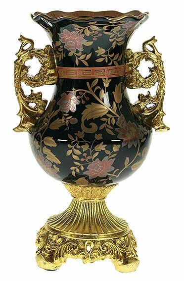 151220 Ваза декоративная, керамика 25см