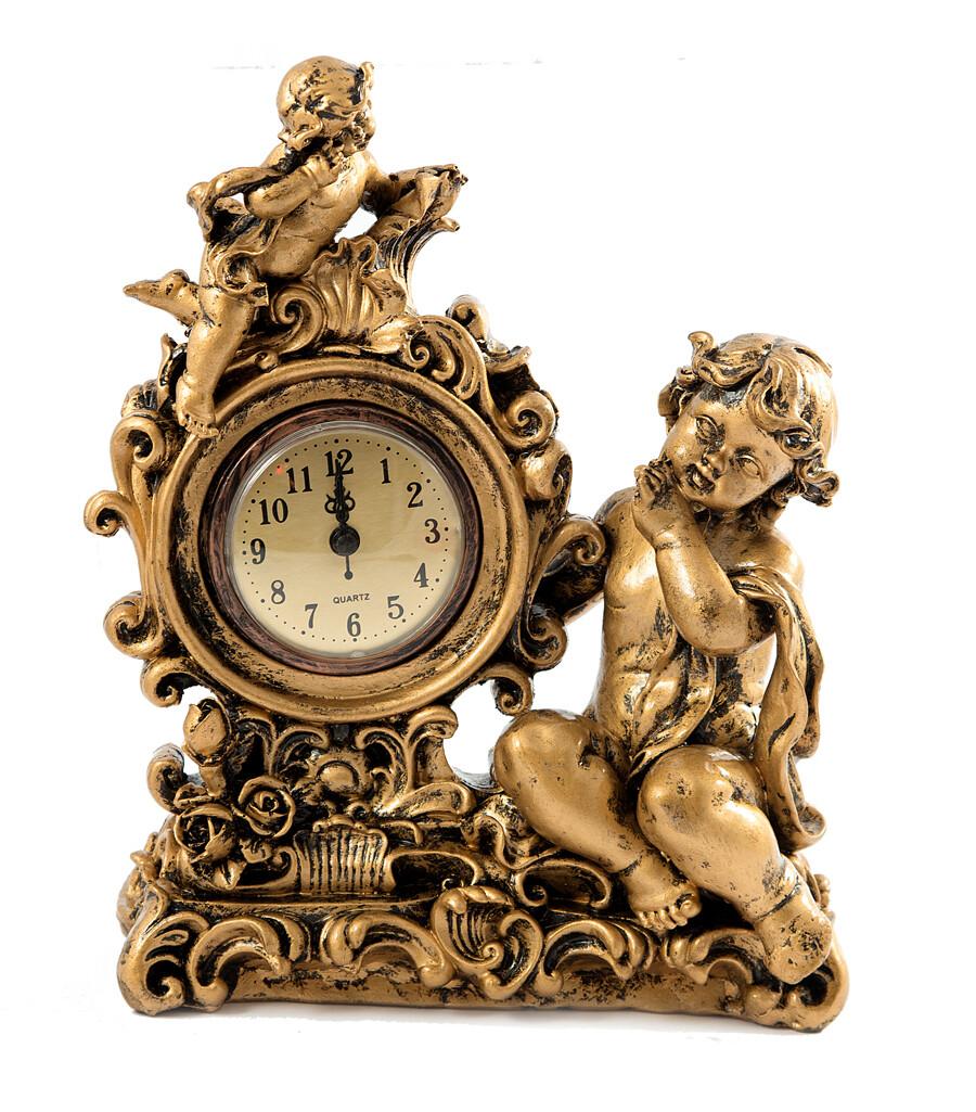 """59428 Часы настольные """"Ангелы"""" 28см"""