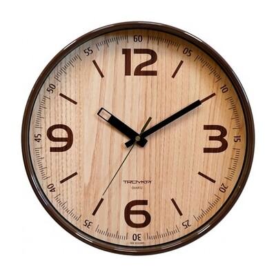 101728 Часы настенные ТРОЙКА 77774731, 300х300х50 мм