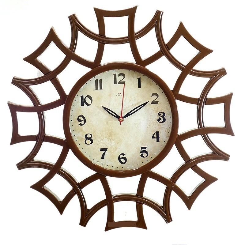 "106707 Часы настенные ""21 Век"" 4945-101 (49х45), 490х450х16 мм"