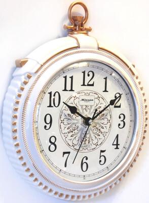 96723 Часы настенные MIRRON P3078А БЗБ, 350х300х50 мм