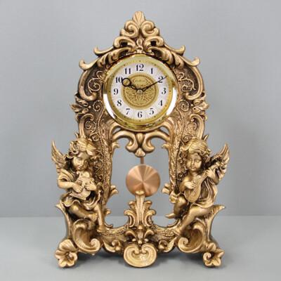 25422 Часы настольные La Minor 2132 статуэтка