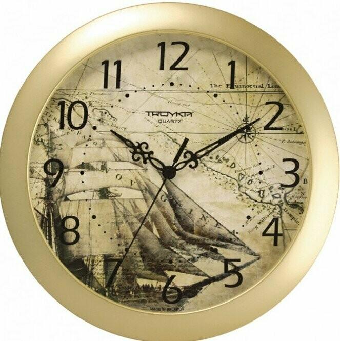 65645 Часы настенные ТРОЙКА 11171179, 290х290х35 мм