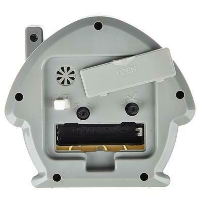 529-178 LADECOR CHRONO Будильник, пластик, 11,7х10,5х4,5см, в форме домика, 4 цвета