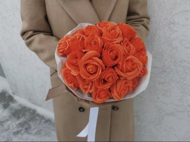 Букет 23 мыльные розы