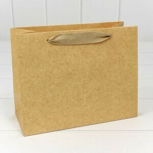 "000221EA Пакет подарочный Крафт ""Люкс"" 23*18*10 210г 1/20 1/360"
