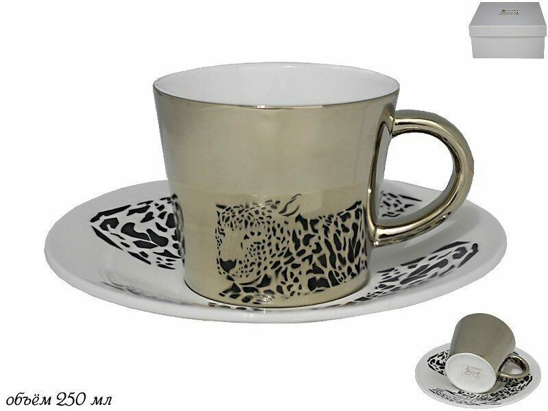 105-779 Чашка 250 мл с блюдцем в под.уп