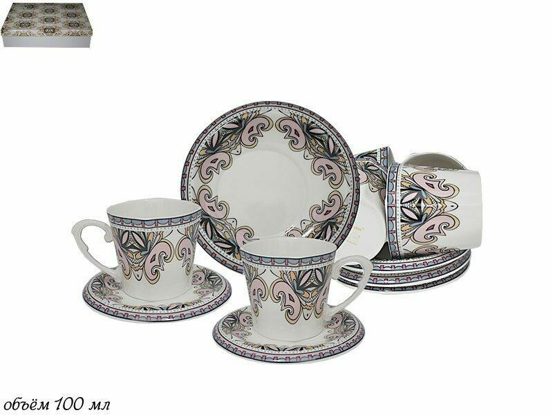 229-038 Кофейный набор 12пр. в под.уп.Фарфор