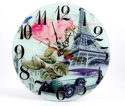 """78924 Часы """"Париж"""" настенные 30см"""