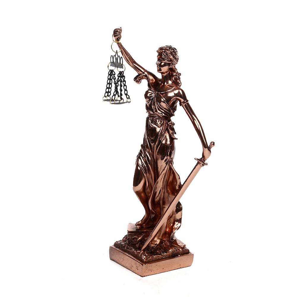 21433 Статуэтка Греческая богиня правосудия - Фемида 30см