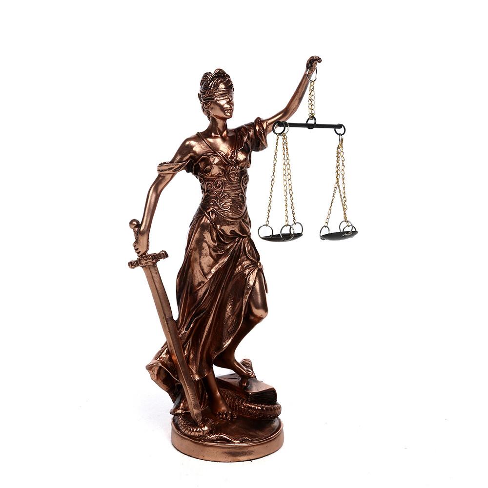 21432 Статуэтка Греческая богиня правосудия - Фемида 21см