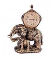 """59419 Часы настольные """"Слоны"""" 31*18см"""