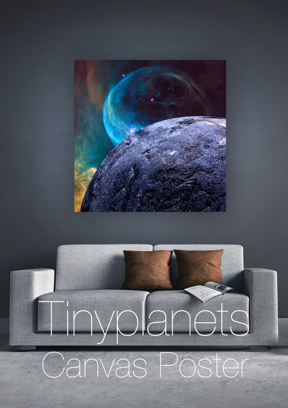 Blueberry Planet 50 x 50 cm