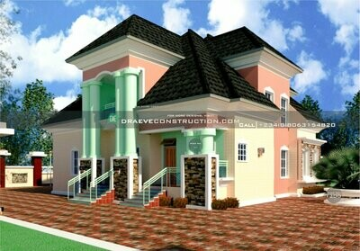 4 Bedroom Penthouse Plan Preview | Nigerian House Plans