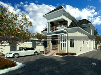 4 Bedroom Penthouse Plan Preview with Key Construction Materials Estimate | Nigerian House Plans