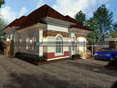 3 Bedroom Bungalow Floorplan Preview | Nigerian House Plans