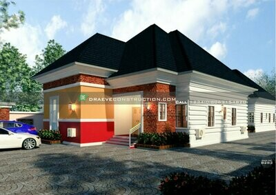 3 Bedroom Flat, 2 Bedroom flat and Selfcontain Floor Plan Preview | Nigerian House Plans