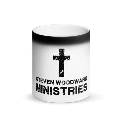 Matte Black Ministry Mug