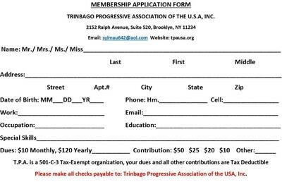 TPA Membership Application Form