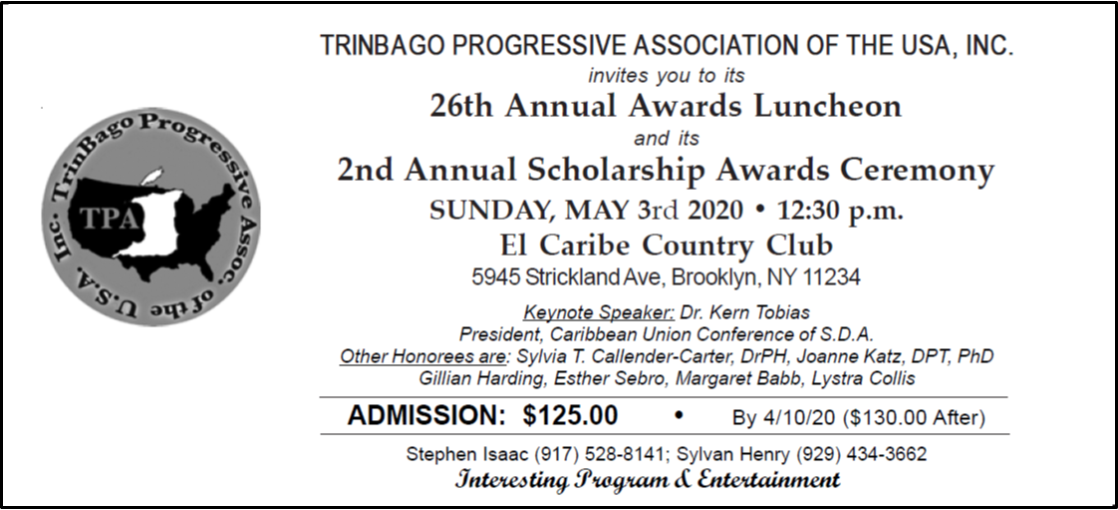 26th Annual Awards Luncheon Ticket