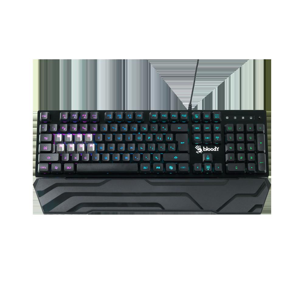 B380 Light Strike 8 Key Optical RGB Gaming Keyboard