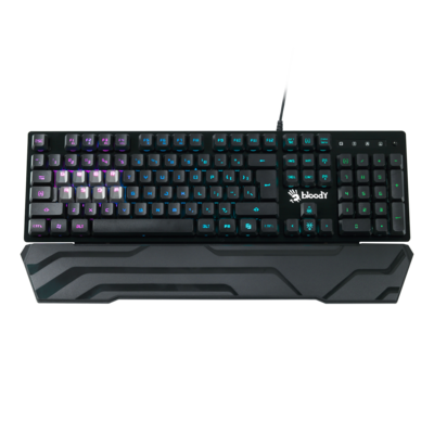 (Renewed) B380 Light Strike 8 Key Optical RGB Gaming Keyboard