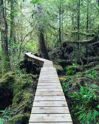 He-Tin-Kis Boardwalk, Ucluelet BC