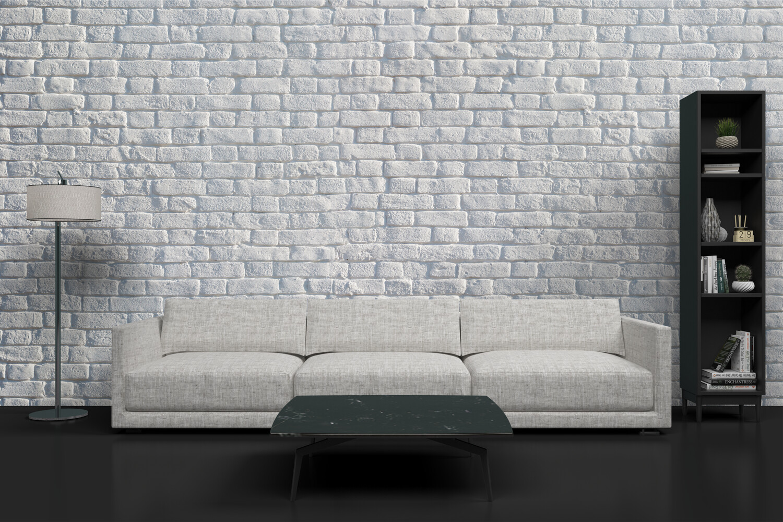 WHITE BRICK | Vinyl Wall Wrap for Any Room | Removable Vinyl Wallpaper