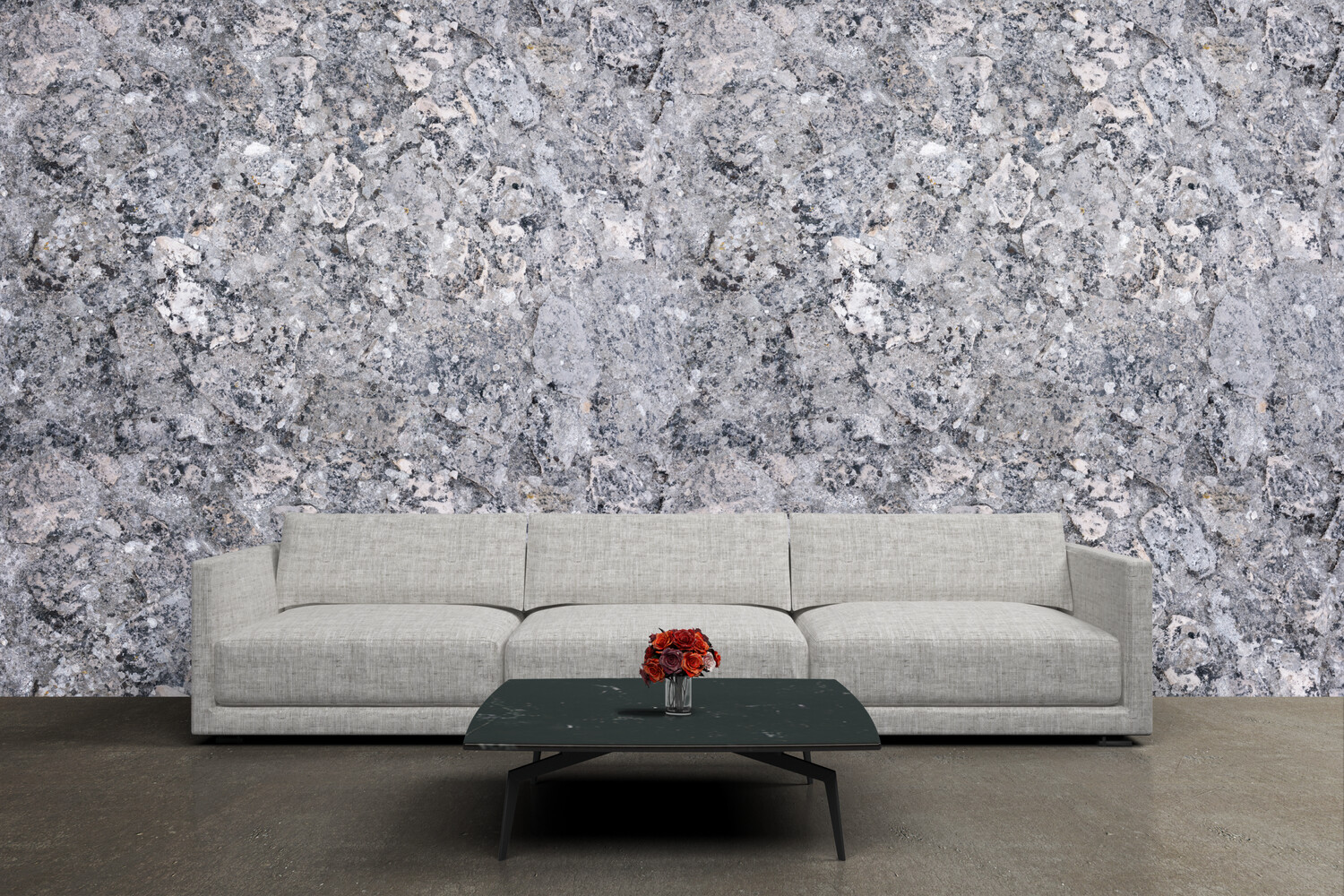 DETAILED STONE TEXTURE | Vinyl Wall Wrap for Any Room | Removable Vinyl Wallpaper