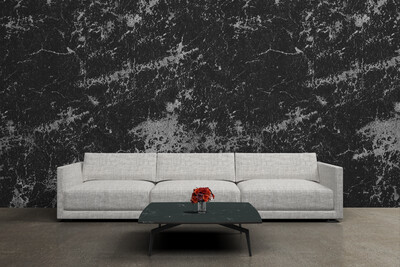 DARK LEATHER | Vinyl Wall Wrap for Any Room | Removable Vinyl Wallpaper