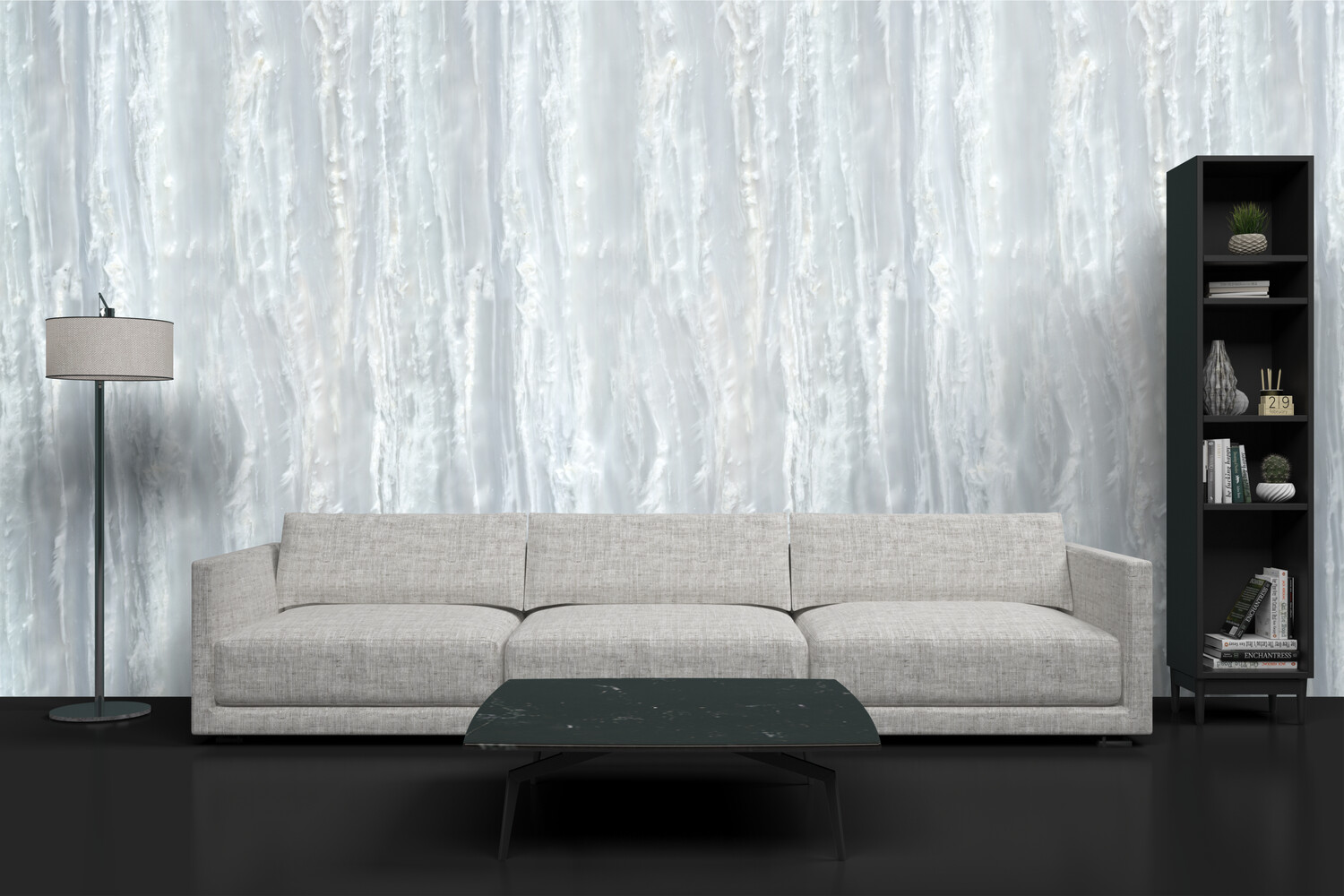WHITE CEMENT | Vinyl Wall Wrap for Any Room | Removable Vinyl Wallpaper