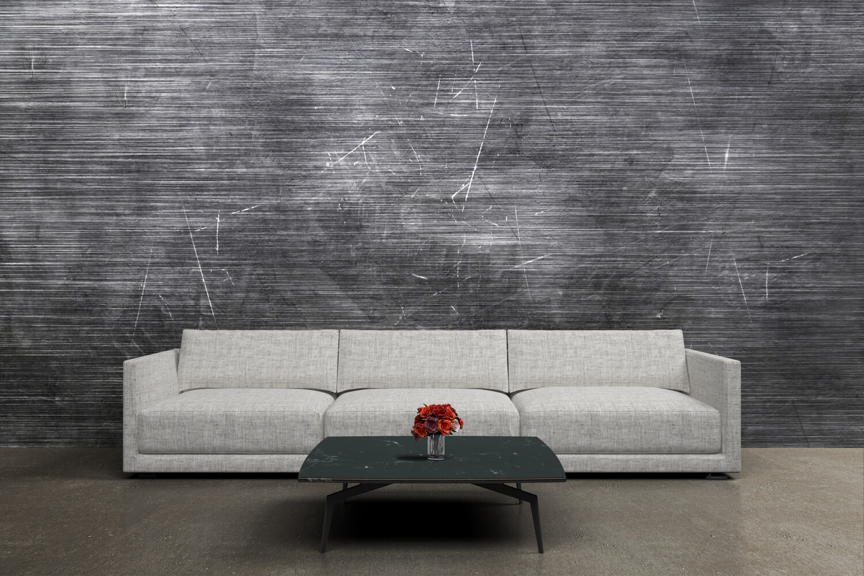 DISTRESS GREY | Vinyl Wall Wrap for Any Room | Removable Vinyl Wallpaper
