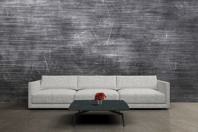 DISTRESS GREY | Vinyl Wall Wrap for Any Room | Removable Vinyl Wallpaper